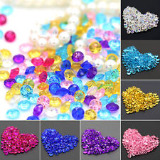 2000Pcs Wedding Decoration Scatter Table Faux Diamond Acrylic Confetti New Trend