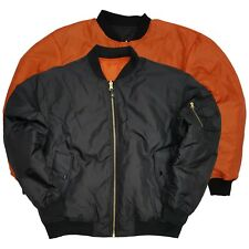 Air Force Military Reversible MA-1 NYLON Bomber Flight alpha Jacket  (on SALE)