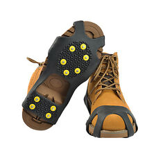 Crampons Traction Shoes Boot Studded Cleats Ice Anti-Slip Snow US Covers Spike