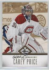 2012-13 Panini Limited Gold #36 Carey Price Montreal Canadiens Hockey Card