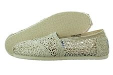 Toms Classic Natural Morocco Crochet 001096B10 Flats Shoes Medium (B, M) Womens