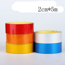 Great Use Car 1cm/2cm*5m Reflective Tape Sheeting Styling Reflect Decal Stickers