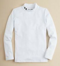 NWT Under Armour COLDGEAR long-sleeve compression MOCK NECK boys SHIRT YOUTH L