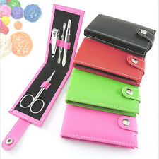 Hotly4 in 1 Pocket Professional Manicure Pedicure Set Kit Nail Care Clipper Tool