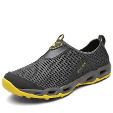 Mens Plus Size Breathable Hiking Sport Shoes Non Slip Light Walking Casual Shoes