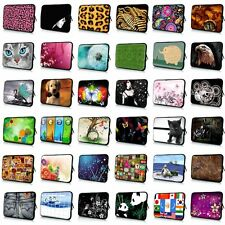 """For Netbook Laptop Tablet iPad PC 9 Inch 10 10.1""""Neoprene Sleeve Bag Case Pouch"""