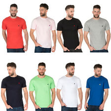 Mens Urban Release Polo T-Shirt Casual Fit Tee Horse Short Sleeve Crew Neck