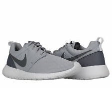 Nike Roshe One (GS) Wolf Grey/Cool Grey-White Big Kids Running Shoes 599728-028