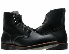 Red Wing Heritage 8114 Iron Ranger 6-Inch Cap Toe Black Men's Boots 08114