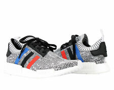 Adidas NMD_R1 PK Primeknit Tri Color Grey/White Men's Running Shoes BB2888