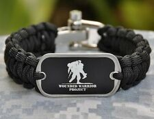 Wounded Warrior Project Paracord Survival Bracelet by Survival Straps