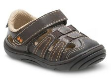 Surprize by Stride Rite Infant/Toddler Boys ACE Brown Fisherman Sandals - NEW