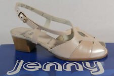 Jenny by Ara Sandals Sneakers Sling Real leather beige new