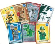 ALL Sainsburys LEGO Create Cards EVERY NUMBER LISTED - FREE POSTAGE