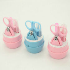 Kids Baby Infant Finger Toe Nail Clipper Scissor Cutter Safety Manicure Set NEW
