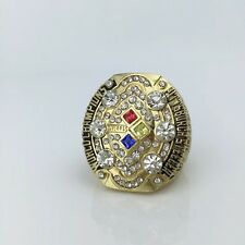 Golden version 2008 Super Bowl Replica Pittsburgh Steelers Championship Ring