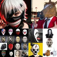 Halloween Cosplay Party Costume Animal Head Mask Adult Masquerade Lot JZUS