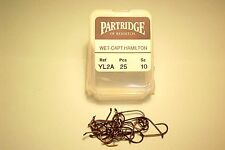 PARTRIDGE NEW CAPT HAMILTON TWH WET TROUT FLY  FISHING HOOKS NEW CODE FOR YL2A