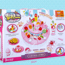 Kitchen Toy Gift Child Girl Birthday Layer Birthday Cake 1 PC Cheerful Double