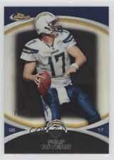 2010 Topps Finest Black Refractor #112 Philip Rivers San Diego Chargers Card