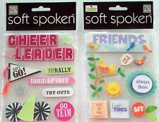 Soft Spoken   Friends Stickers    New!   NIP