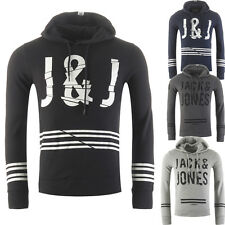 JACK & JONES HOODIE HOODED JUMPER JCOFUSE SWEAT HOOD, 3 COLORS, S, M, L, XL, XXL
