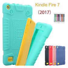 For Amazon Kindle Fire 7 2015 2017 Tablet Kiddie Shockproof Silicone Case Cover