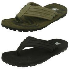 Childrens Boys Down To Earth Toe Post Mule Flip Flop Sandals - N0041