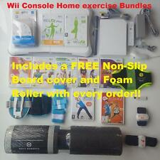 Wii Console + Balance Board = CHOOSE your home fitness exercise keep fit Bundle
