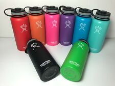 Hydro Flask Insulated Stainless Steel Water Bottle, Wide Mouth &18oz/32oz/40oz