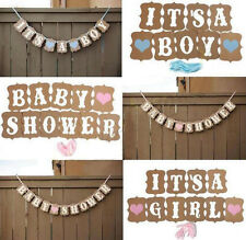 Bunting Baby Shower Borthday 1 Pcs Banner Baby Decorations Boy Girl Cute Party