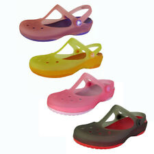 Crocs Womens Carlie Mary Jane Flat Shoes