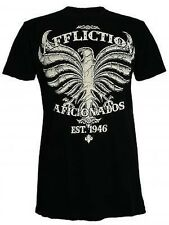 AFFLICTION mens Vintage T-Shirt Heavy Bird (black) NEW