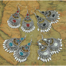 BOHO TRIBAL TASSEL DANGLE DROP EARRINGS Bohemian Gypsy Ethnic Jewellery Gift