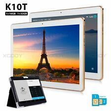 10.1'' IPS HD 3G Phone Call Tablet PC Quad Core Android 4.4 16GB Dual SIM XGODY