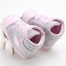 Infant Toddler Boy Girl Soft Sole Crib Shoes Sneaker Newborn Casual Shoes Superb