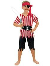 Boys' Pirate Costume Child Fancy Dress Book Week Dress Up Party