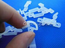 8mm 10mm 15mm 20mm Silicon Clip for Fixing 3528 5050 RGB Single Color LED Strip