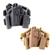 Tactical left Hand Drop Leg Thigh Holster With 2 Pouches for SIG SAUER P226 P229