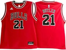 JIMMY BUTLER CHICAGO BULLS NBA AWAY YOUTH RED JERSEY