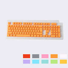 104 keys PBT keycaps Backlit Double-shot Keycaps fit Mechanical Cherry MX Switch