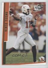 2006 Press Pass SE Gold #G39 Vince Young Texas Longhorns Rookie Football Card