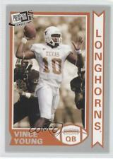 2006 Press Pass SE Old School #OS21 Vince Young Texas Longhorns Football Card