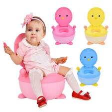 Portable Cute Cartoon Baby Potty Toilet PenguinTrainer Toddlers Training Seat