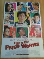 HOW TO EAT FRIED WORMS 27x40 ORIGINAL D/S MOVIE POSTER 1SH
