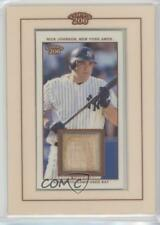 2002 Topps 206 Relics Memorabilia #TR-NJ Nick Johnson New York Yankees Card