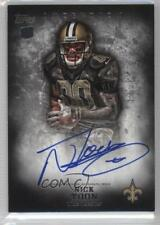 2012 Topps Inception #116 Nick Toon New Orleans Saints Auto Rookie Football Card