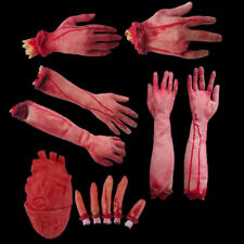 Horror Bloody Fake Latex Dead Body Parts Severed Halloween Toy Decoration Trick