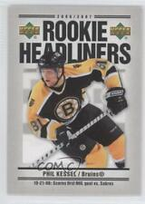 2006-07 Upper Deck Rookie Headliners #RH22 Phil Kessel Boston Bruins Hockey Card