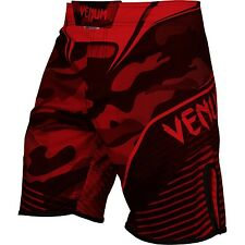 Venum Mens Camo Hero MMA Fight Shorts Red Mix Martial Arts Training Cage UFC